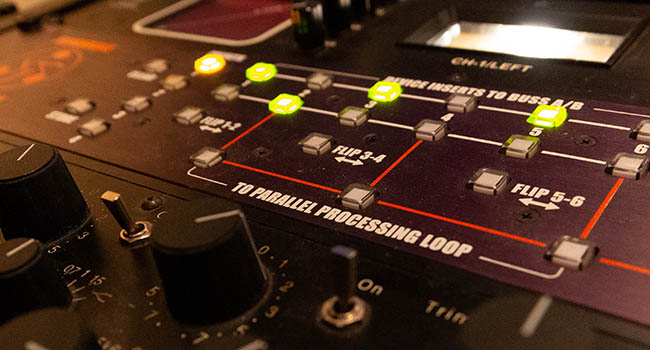 Manley Vari-Mu Mastering Compressor Dangerous Music BAX Paramteric Eq Post Production Studio view for editing surround sound in Pro Tools for film, tv, and masteringfor analog and digital mastering in the Kingston, New York
